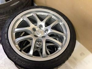 G35 coupe wheels and tires 19 inch