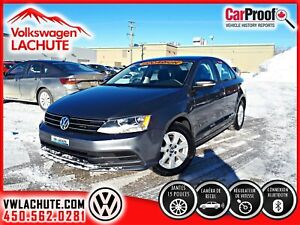 2015 Volkswagen Jetta TRENDLINE PLUS + AUTOMATIQUE + AIR + MAGS