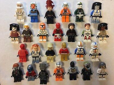Lego Minifigure Bulk Lot of 10 Random Mixed Star Wars Figures