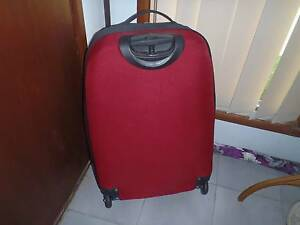 Dark rose coloured Suitcase on Wheels Maryland Newcastle Area Preview