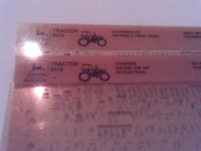 John Deere Parts Catalog 5010 Tractor Microfiche Fiche Manual