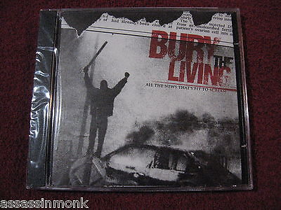 Bury The Living All The News Thats Fit To Scream Cd His Hero Is Gone Copout
