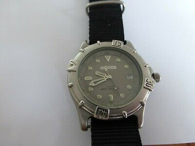 ADIDAS WATCH all stainless steel in good working order and condition