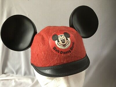 Vintage original Mickey Mouse ears from WDW Jacobson Felt Hat Beanie