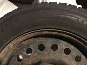 4 Winter tires size 205/60/16 Honda Accord