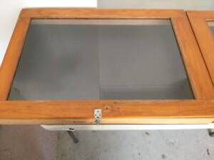 3 x Wood Display Cabinets for Markets. Kallangur Pine Rivers Area Preview