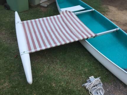 Outrigger for Rosco Canoe