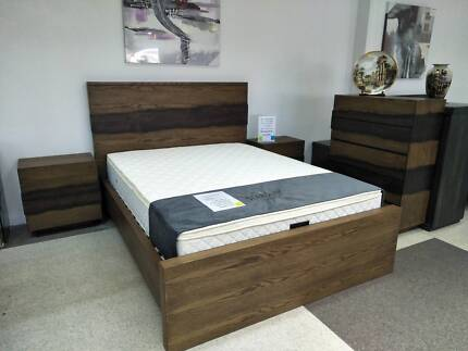 SAVE $600 Brand New 4 PCE Roko Bedroom Suite
