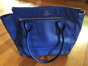Kate Spade blue leather bag Coorparoo Brisbane South East Preview
