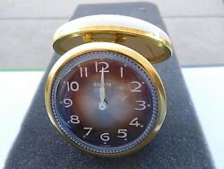 Vintage Equity Wind-Up Fold-Up Travel Alarm Clock