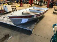 12' Aluminum Lund Boat - No Motor - No Trailer   T1290223