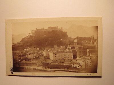 Salzburg mit Festung Hohensalzburg / CDV