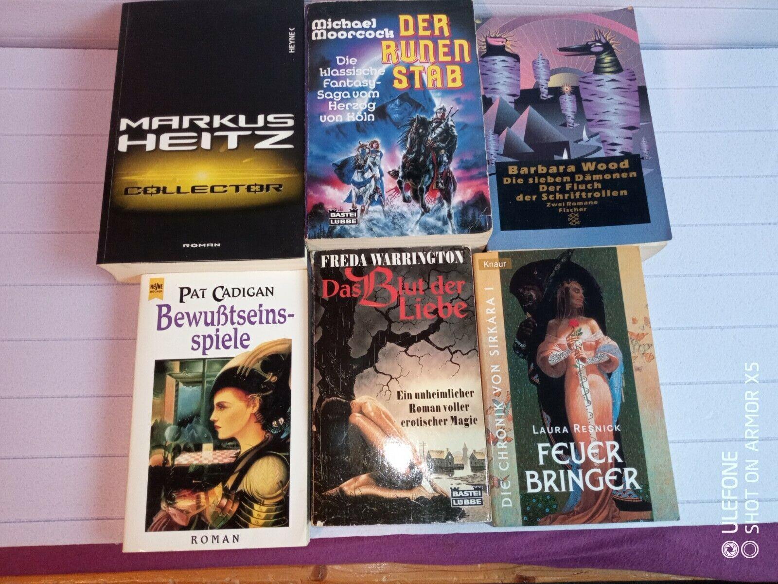 6 Utopische Romane Science Fiction  verschiedene Schriftstellern Markus Heitz
