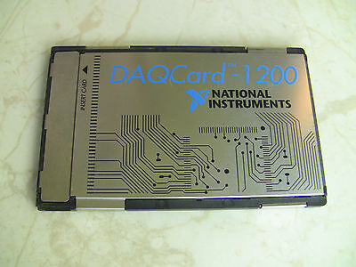 National Instruments Pcmcia Daqcard-1200 Ni Daq Card Analog Input