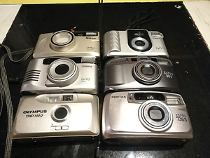 Various Point and Shoot Film Cameras. Maroochydore Maroochydore Area Preview