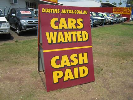 Wanted: Late model cars wanted. Prefer Toyota Diesel