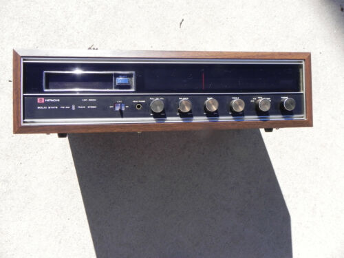 Vintage Hitachi AM-FM Stereo 8 Track Player Model KSP-2800H