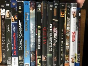 Mixture of BluRay & DVD $2 each or 14 for $20!
