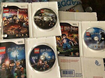 LEGO Harry Potter: Years 1-4 + 5-7 Bundle Nintendo Wii