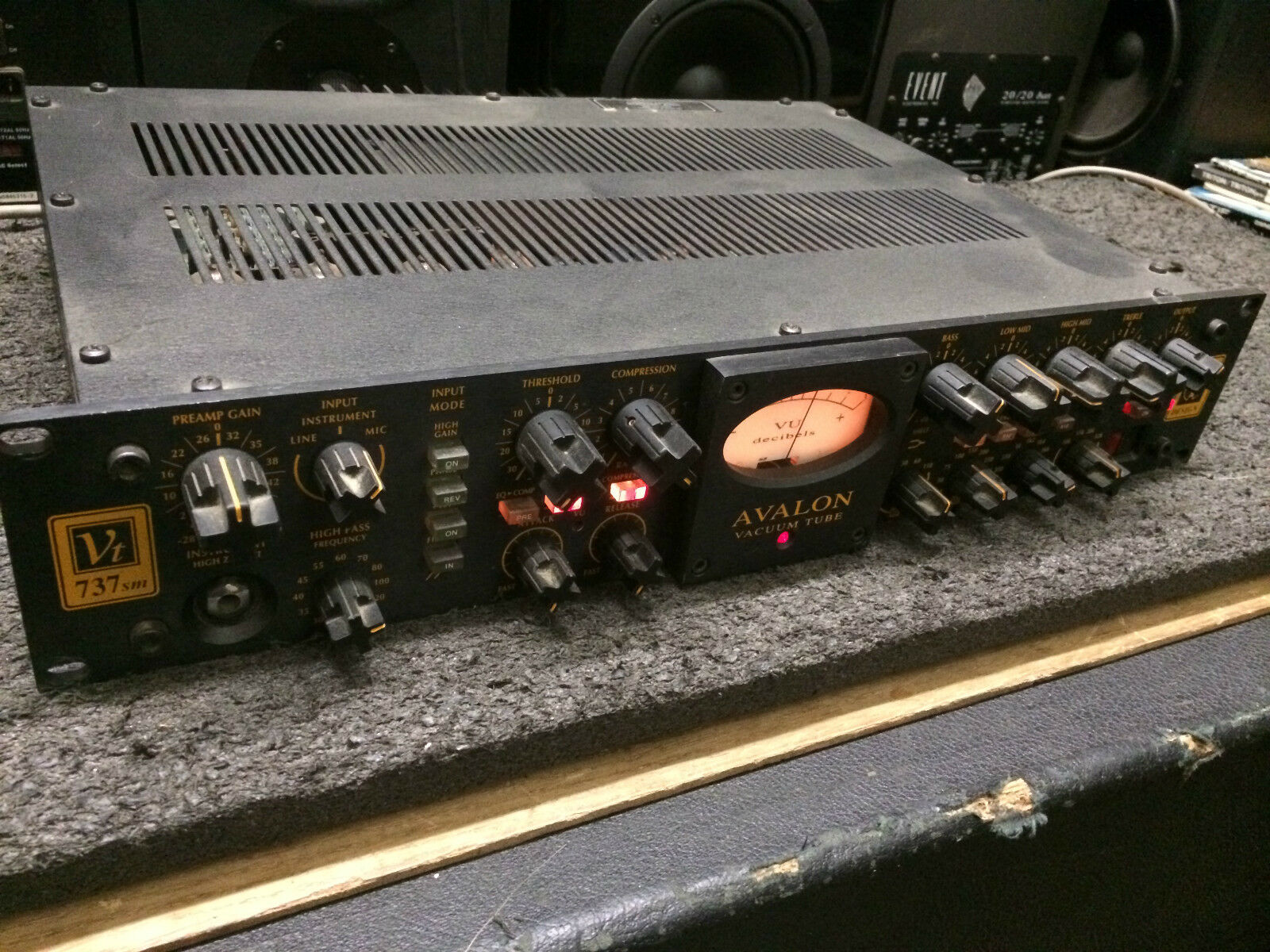 Avalon 737 Sm Tube Mic Pre Eq Compressor Vt Sp Amp Marcenary Local Radio Repair Shops We Are Open 6 Days A Week For Pick Up At Armens Music Shop