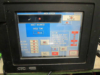 Ctc Parker P31-3t4-a6-2a3 Touch Screen Panel 90-250vac 80watt Fully Tested
