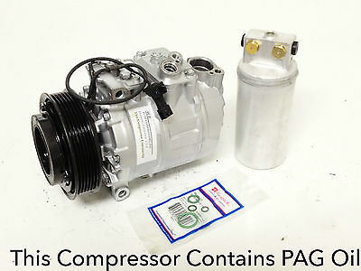 1999 2003 SAAB 9 5 ALL ENGINE USA REMAN AC COMPRESSOR KIT WITH 1YEAR WARRANTY