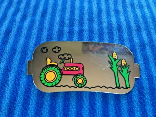 Evenflo Barnyard Farm Exersaucer Tractor Flat MIrror Toy Replacement Part