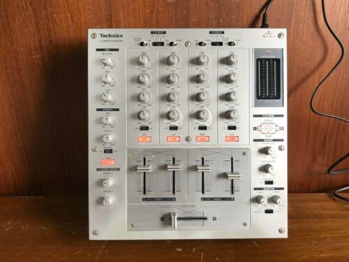 Technics SH-MZ1200 Professional DJ 4-channel Mixer Silver color