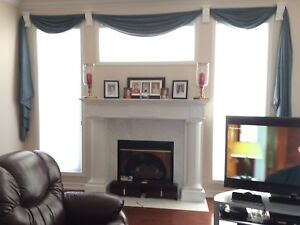 Used window treatments with sconces