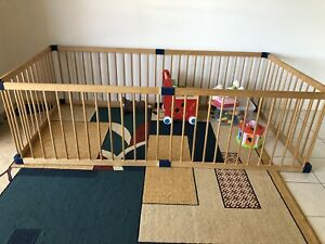 Kiddy Cots wooden playpen