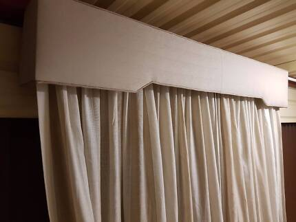 Showroom display curtains