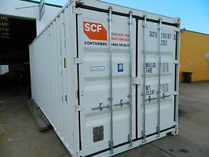 NEAR NEW 20FT SHIPPING CONTAINER Dundowran Fraser Coast Preview