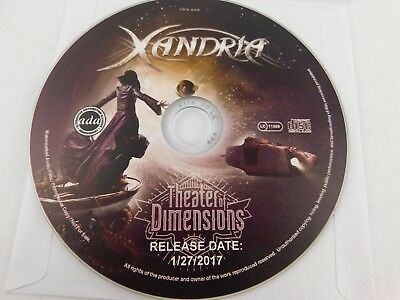 Usado, Xandria - Theater Of Dimensions PROMO CD 1-27-17 Release date comprar usado  Enviando para Brazil