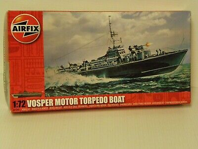 Airfix A05280 1:72 Scale Vosper Torpedo Boat Warship Classic Kit Series 5