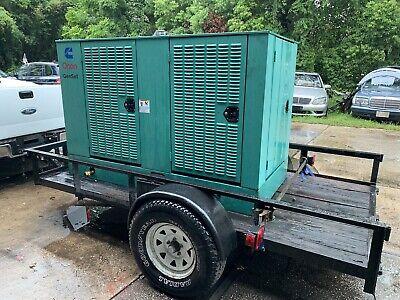 Onan Natural Gas Generator Sn K990023695 Model Gghb-3381104