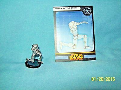 WotC Star Wars Miniatures Super Battle Droid, RotS 39/60, Separatist, Common