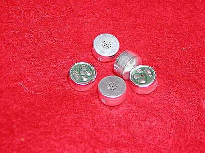Electret Microphone Element - Electret Condenser Microphone Element Qty 5
