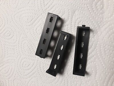 Fischertechnik Kugelbahn Dynamic Teile Nr. 36921 Winkelträger schwarz (5 Stück)