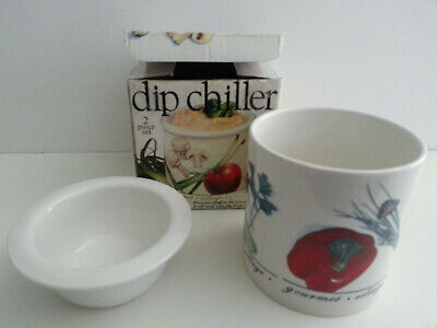 Gourmet Du Village Dip Chiller jubilee edition Design - NEW IN BOX