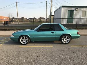 Mint 1992 Ford Mustang lx supercharged