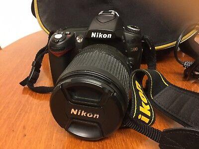 Nikon D90 Camera And Accesories