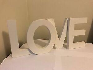 LOVE - Wood Letters Jandakot Cockburn Area Preview