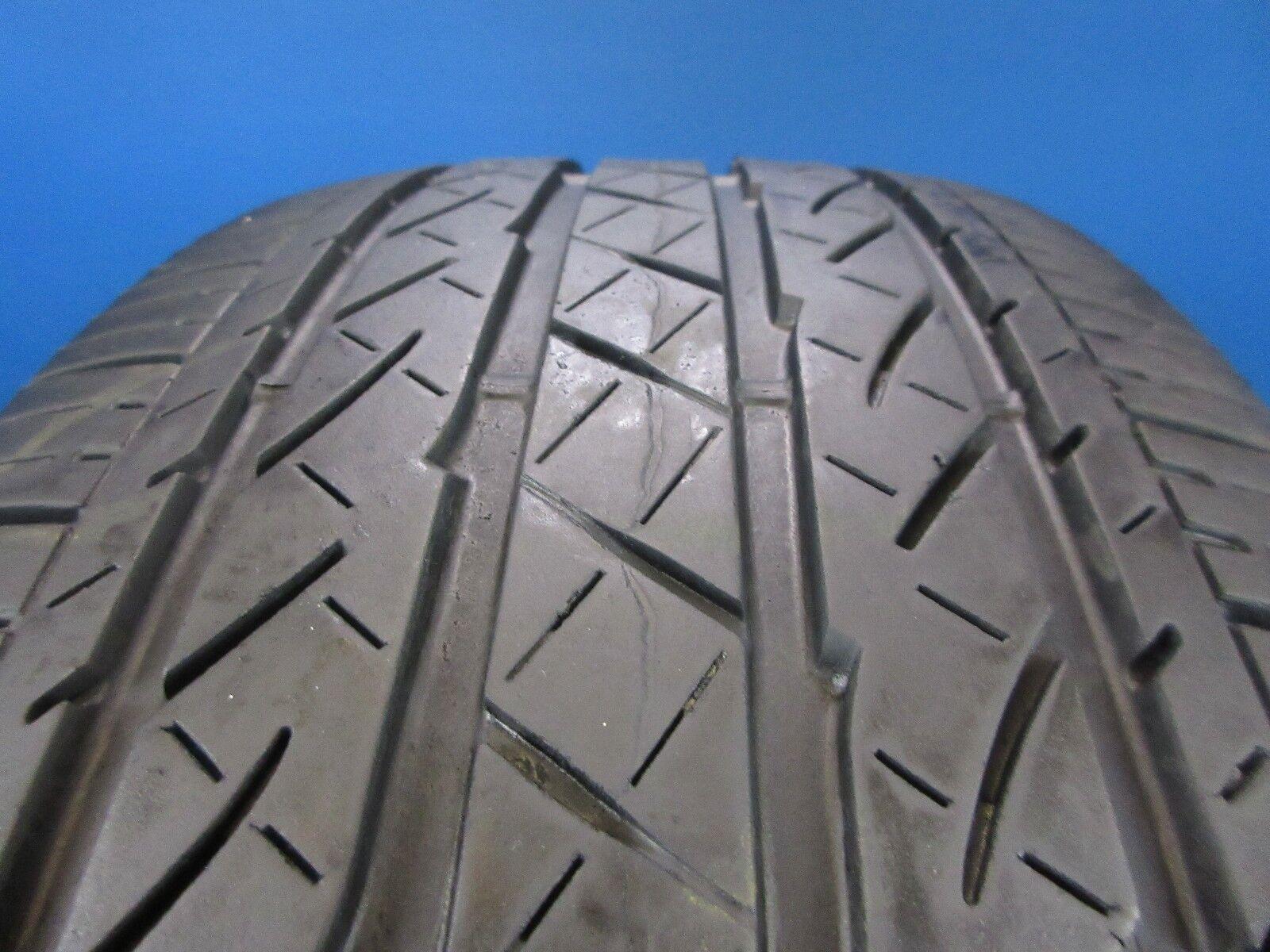 One Used Bridgestone Potenza  RE97AS 225 60 18 6-7/32 Tread No Patch D2499