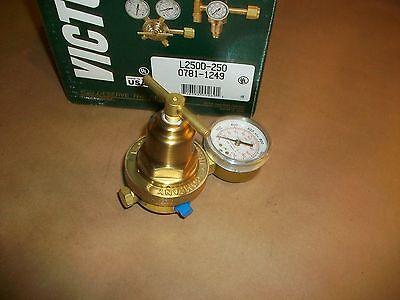 Victor Pressure Regulator L250d-250  New In Box