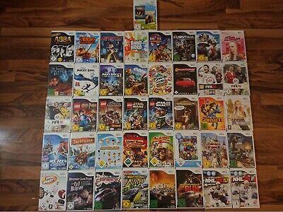Nintendo Wii Spiele z.B. (Mario Kart, Bros., Micky, Wii Fit, Kirby, Zelda,...)