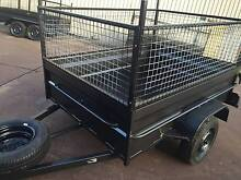 7X5 BOX TRAILER HEAVY DUTY 600MM CAGE $1500  1Y PRIV REGO Blue Mountains Preview