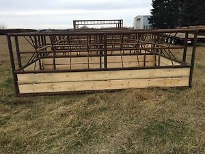 Bale Feeders and corral panels
