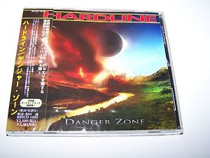 Hardline - Danger Zone CD 2012 Japanese CD Hard Melodic Rock + Bonus Track
