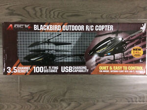 Blackbird remote control helicopter