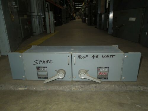 Cutler Hammer M50at3233r 100/100a 3p 240v Twin Fused Panelboard Switch Fdps3233r